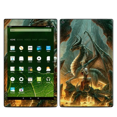 Amazon Kindle Fire HD10 2015 Skin - Dragon Mage