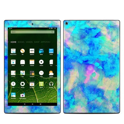 Amazon Kindle Fire HD10 2015 Skin - Electrify Ice Blue