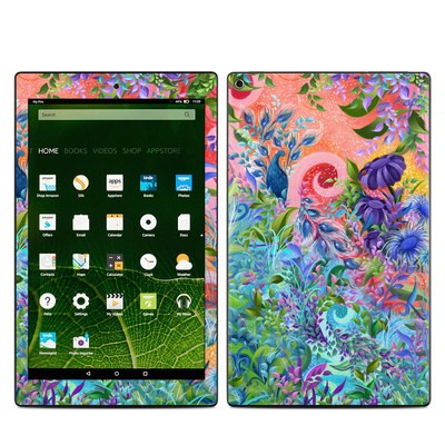 Amazon Kindle Fire HD10 2015 Skin - Fantasy Garden