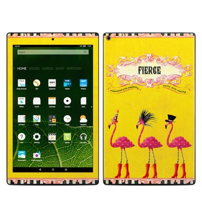 Amazon Kindle Fire HD10 2015 Skin - Fierce