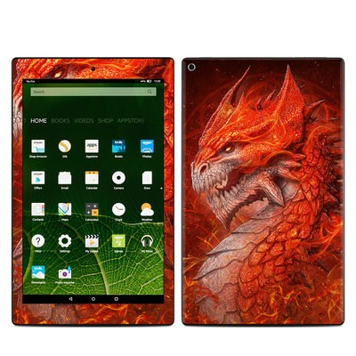 Amazon Kindle Fire HD10 2015 Skin - Flame Dragon