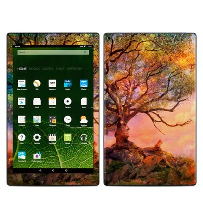 Amazon Kindle Fire HD10 2015 Skin - Fox Sunset