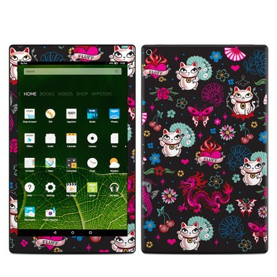 Amazon Kindle Fire HD10 2015 Skin - Geisha Kitty