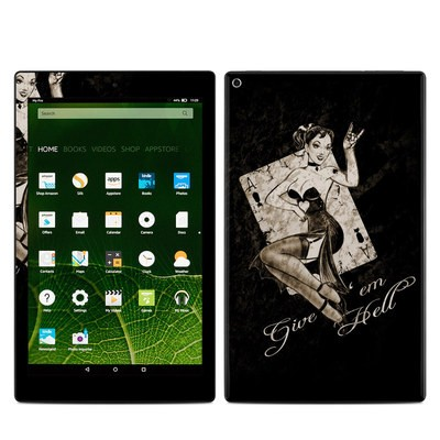 Amazon Kindle Fire HD10 2015 Skin - Give Em Hell