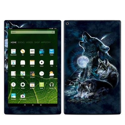Amazon Kindle Fire HD10 2015 Skin - Howling