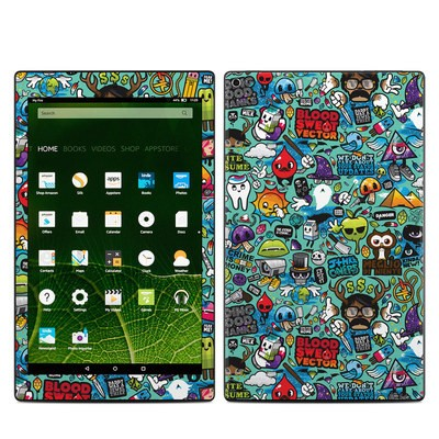 Amazon Kindle Fire HD10 2015 Skin - Jewel Thief
