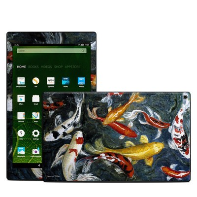 Amazon Kindle Fire HD10 2015 Skin - Koi's Happiness