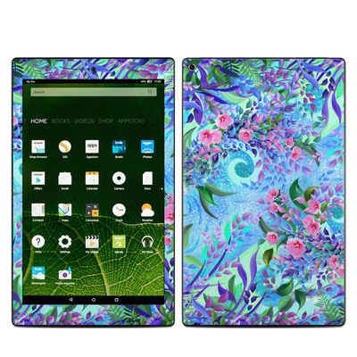 Amazon Kindle Fire HD10 2015 Skin - Lavender Flowers