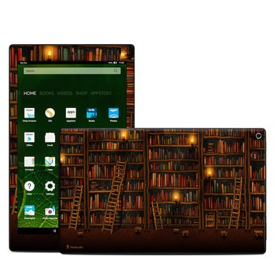 Amazon Kindle Fire HD10 2015 Skin - Library
