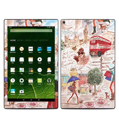 Amazon Kindle Fire HD10 2015 Skin - London