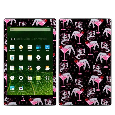 Amazon Kindle Fire HD10 2015 Skin - Martini Girl