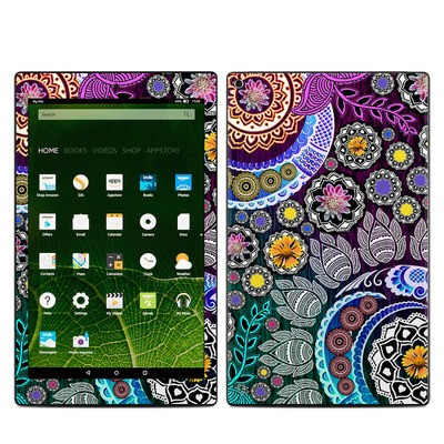 Amazon Kindle Fire HD10 2015 Skin - Mehndi Garden