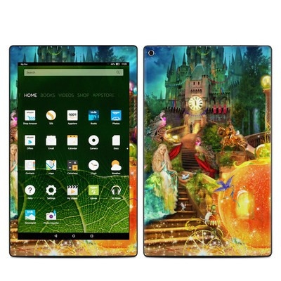 Amazon Kindle Fire HD10 2015 Skin - Midnight Fairytale