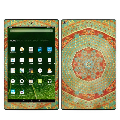Amazon Kindle Fire HD10 2015 Skin - Mandala Citrus