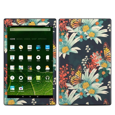 Amazon Kindle Fire HD10 2015 Skin - Monarch Grove
