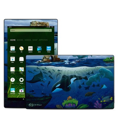 Amazon Kindle Fire HD10 2015 Skin - Oceans For Youth