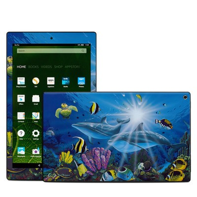 Amazon Kindle Fire HD10 2015 Skin - Ocean Friends