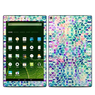Amazon Kindle Fire HD10 2015 Skin - Pastel Triangle