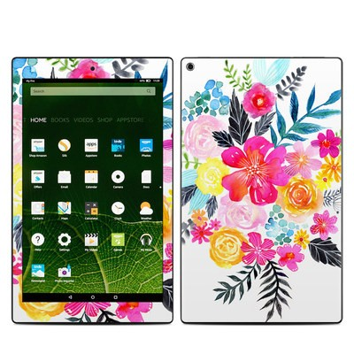 Amazon Kindle Fire HD10 2015 Skin - Pink Bouquet