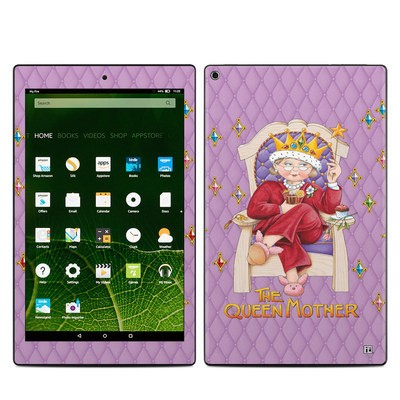 Amazon Kindle Fire HD10 2015 Skin - Queen Mother