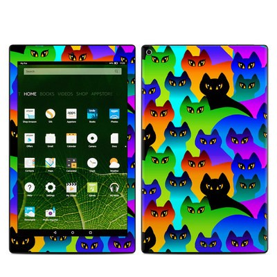 Amazon Kindle Fire HD10 2015 Skin - Rainbow Cats