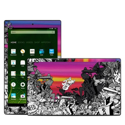Amazon Kindle Fire HD10 2015 Skin - Robo Fight