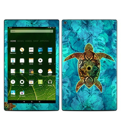 Amazon Kindle Fire HD10 2015 Skin - Sacred Honu