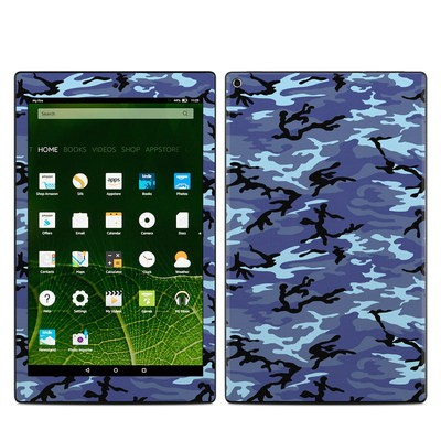 Amazon Kindle Fire HD10 2015 Skin - Sky Camo
