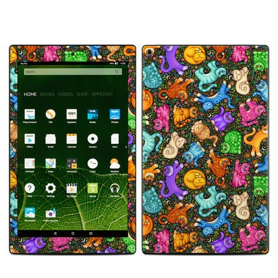 Amazon Kindle Fire HD10 2015 Skin - Sew Catty