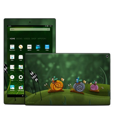 Amazon Kindle Fire HD10 2015 Skin - Snail Race