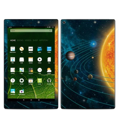 Amazon Kindle Fire HD10 2015 Skin - Solar System