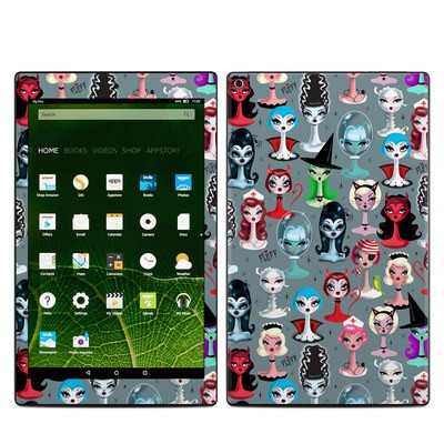 Amazon Kindle Fire HD10 2015 Skin - Spooky Dolls