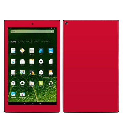 Amazon Kindle Fire HD10 2015 Skin - Solid State Red