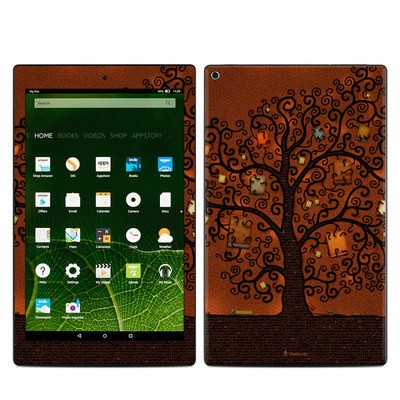 Amazon Kindle Fire HD10 2015 Skin - Tree Of Books