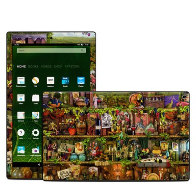 Amazon Kindle Fire HD10 2015 Skin - Wine Shelf