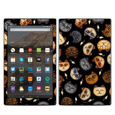 Amazon Kindle Fire HD10 2017 Skin - Cat Faces