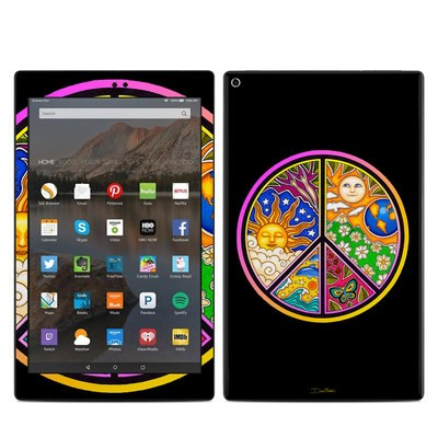 Amazon Kindle Fire HD10 2017 Skin - Peace Sign