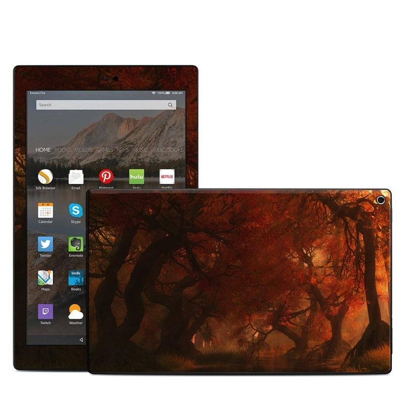 Amazon Kindle Fire HD10 2017 Skin - Canopy Creek Autumn  sc 1 st  DecalGirl & Amazon Kindle Fire HD10 2017 Skin - Canopy Creek Autumn by Digital ...