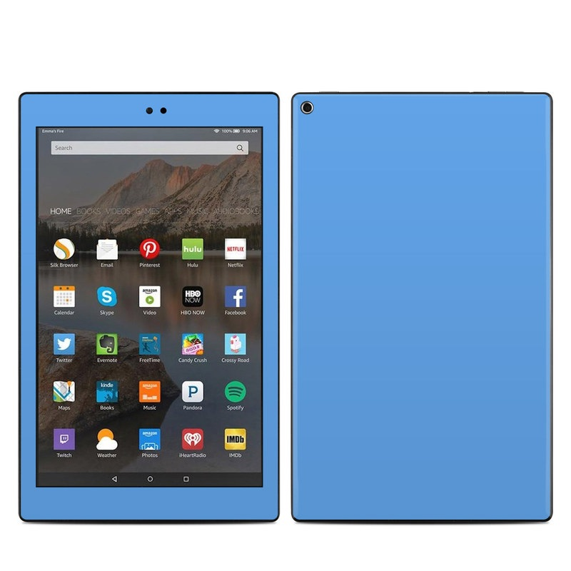 Amazon Kindle Fire HD10 2017 Skin - Solid State Blue