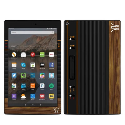 Amazon Kindle Fire HD10 2019 Skin - Wooden Gaming System