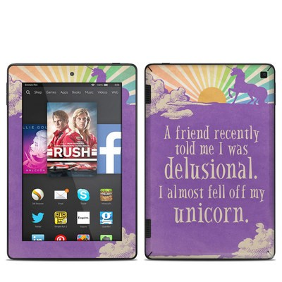 Amazon Kindle Fire HD 7in 2014 Skin - A Friend Recently