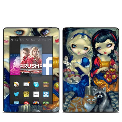 Amazon Kindle Fire HD 7in 2014 Skin - Alice & Snow White