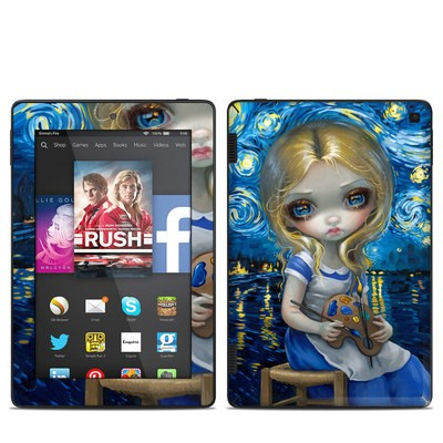 Amazon Kindle Fire HD 7in 2014 Skin - Alice in a Van Gogh