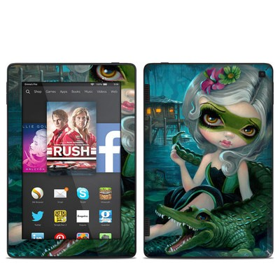 Amazon Kindle Fire HD 7in 2014 Skin - Alligator Girl
