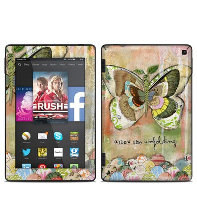 Amazon Kindle Fire HD 7in 2014 Skin - Allow The Unfolding