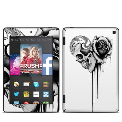 Amazon Kindle Fire HD 7in 2014 Skin - Amour Noir