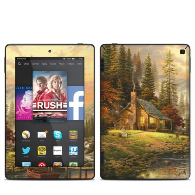 Amazon Kindle Fire HD 7in 2014 Skin - A Peaceful Retreat