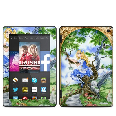 Amazon Kindle Fire HD 7in 2014 Skin - Alice's Tea Time