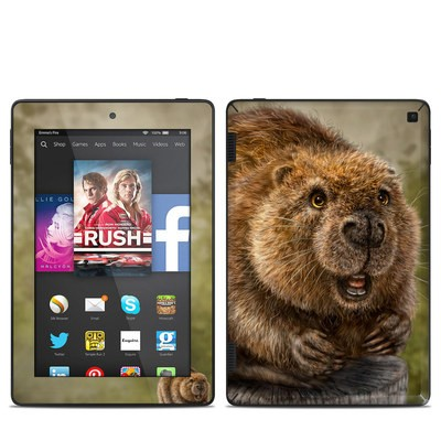 Amazon Kindle Fire HD 7in 2014 Skin - Beaver Totem