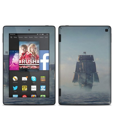 Amazon Kindle Fire HD 7in 2014 Skin - Black Sails